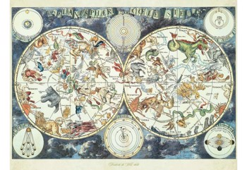 World Map of Fantastic Beasts