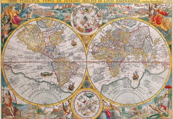 World Map 1594