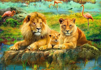 Lions of the Savannah