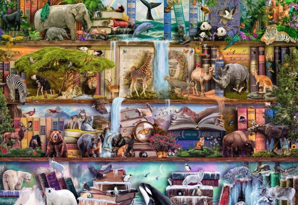 Wild Kingdom Shelves