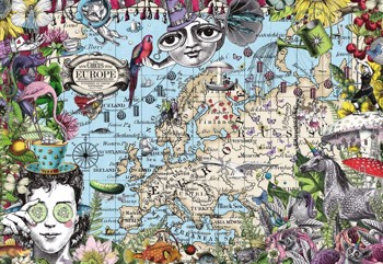 European Map - Quirky Circus