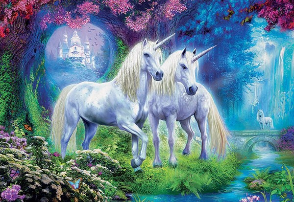 Unicorns in the Forest