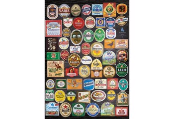 Beer Labels Collage
