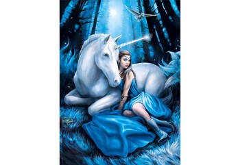 Anne Stokes Blue Moon