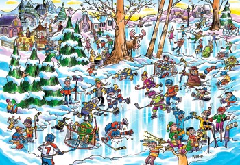 DoodleTown: Hockey Town