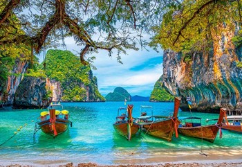 Beautiful Bay in Thailand