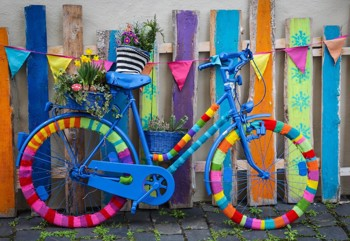 My Beautiful Colorful Bike